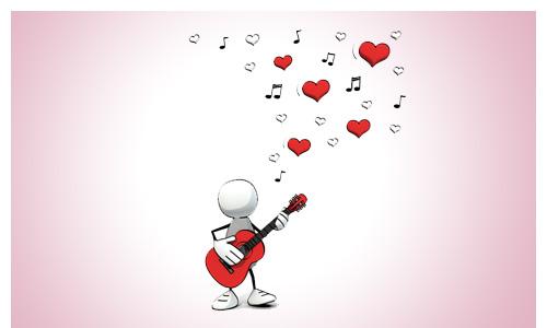 Top 20 Liebeslieder Bild