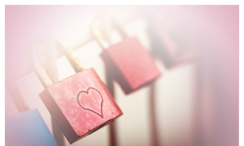 Liebesschlösser Bild